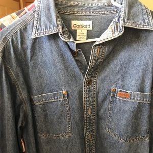 Carhartt vintage jean shirt